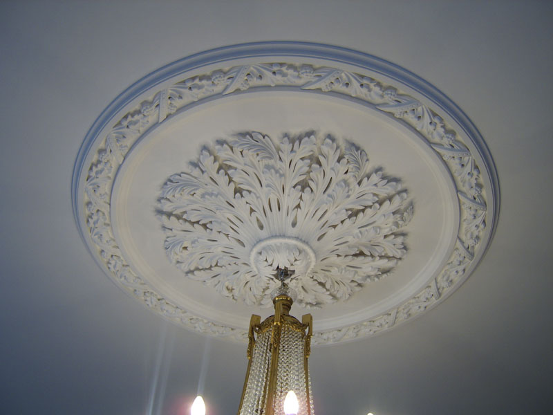 Ceiling Rose restoration and installation